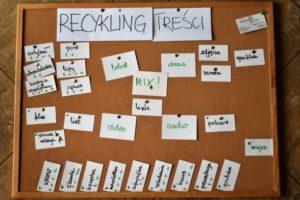 Recykling treści – Twoje wsparcie w tworzeniu contentu